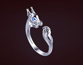 3D printable model jewelry deil Ring