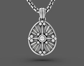 3D print model Easter egg Pisanka pendant with 2