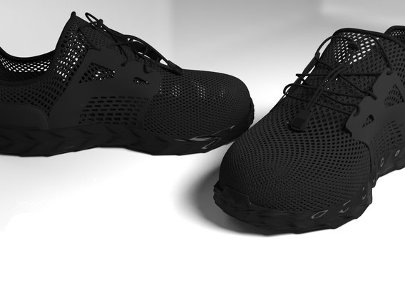 Custom breathable fabric shoes