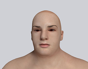 3D model obese Fat Woman