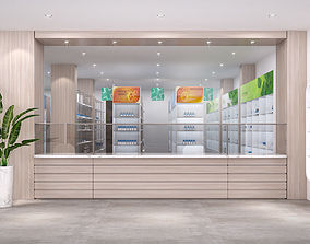 3D model Pharmacy interior healthcare