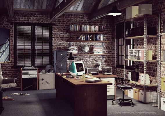 Office Black Sparrow