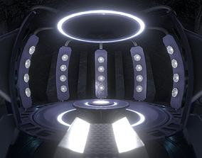 Sci Fi Teleporter or Transporter Environment 3D model