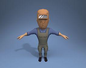 3D model Welder
