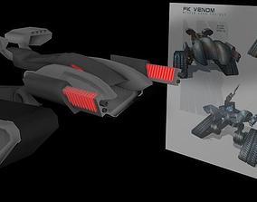 3D model Terminator FK Venom