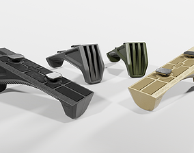 Magpul M-LOK AFG Angled Fore Grip 3D asset