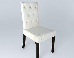 Chair ivory ELIZABETH houses the world 3D model