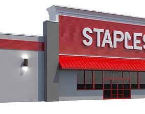 Retail-015 Staples 3D model
