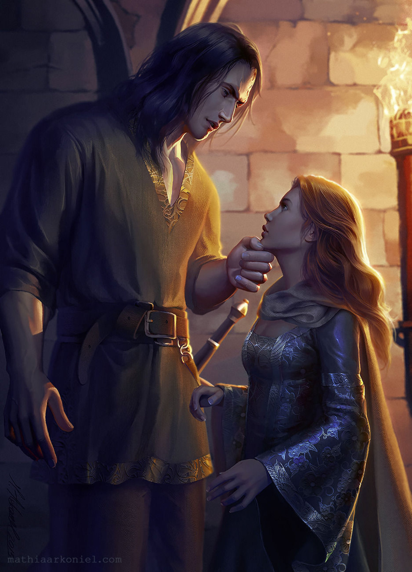 asoiaf: Sansa and Sandor