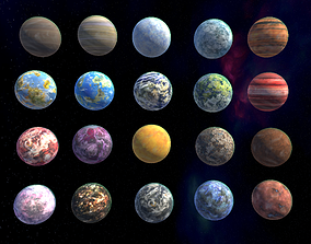 3D model Planets Pack