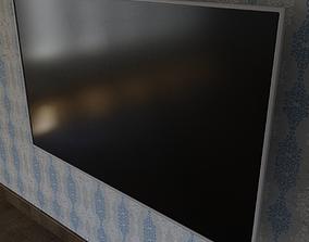 LED TV 3D Model low-poly