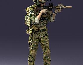 soldier 0722 3D model