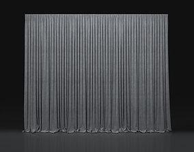 3D Curtain Grey-8