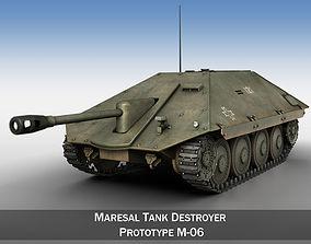 Maresal M-06 - Romanian tank hunter 3D model