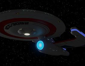 Lexington Class Command Cruiser 3D