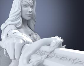 3D print model Wonder Woman ww