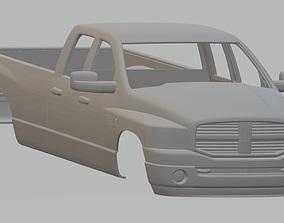 RAM 3500 Printable Body Truck