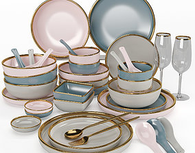 3D model Kitchenware and Tableware 06
