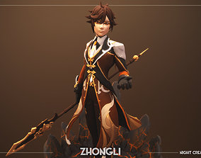 Zhongli - Genshin Impact 3D printable model
