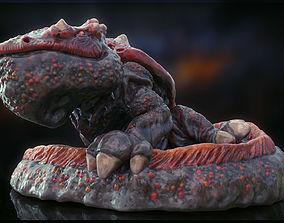 3d printable Fire Salamander