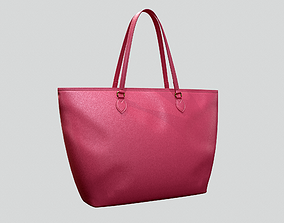 3D Gucci Women Ophidia GG Medium Tote Pink Leather Bag