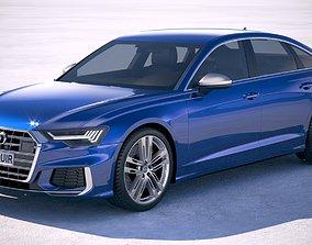 3D model Audi S6 2020