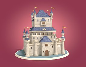 construction Cartoon Medieval Castle 3D