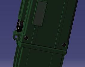 SEM 52 SL Handheld Radio Bundeswehr KSK 3D model