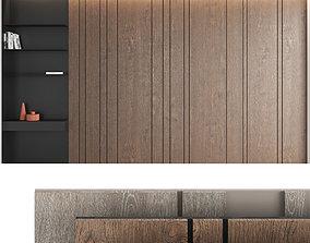 3D model Decorative wall panel set 5