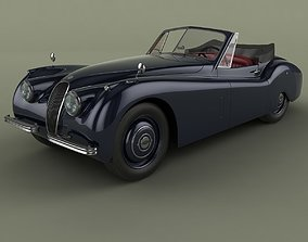 Jaguar XK 120 Drop Head Coupe 3D model