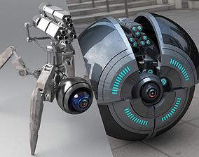 Spider Robot v2 3D model