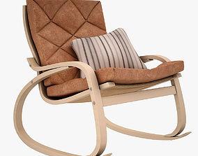 Poang Rocking Chair 3D asset