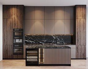 3D Kitchen Modern 30
