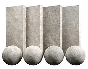 3D model Limestone Amber Stone Texture PBR Vray Corona