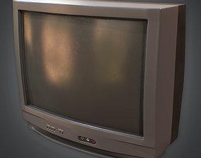 3D model 80s - Television 01 Retro