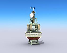 Meteorological Buoy 3D model low-poly