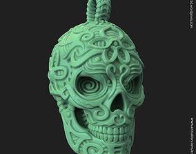 Biker Skull vol12 pendant 3D print model