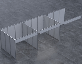Modular Exhibition Stands Base 3D model