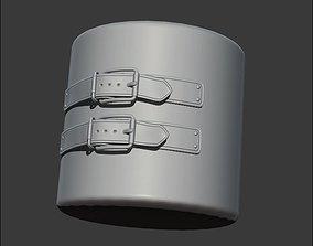 Belts and Buckles IMM zbursh 3D model