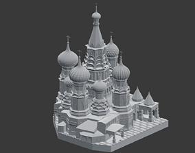 Saint Basils Cathedral 3D print model