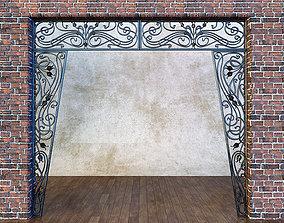 3D model Forged portal