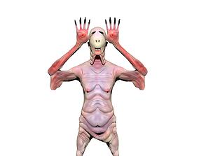 paleman 3D printable model pale man