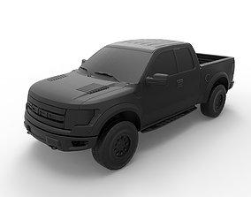 Ford F-150 Raptor 3D print model