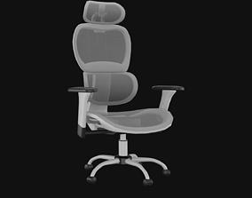 3D model Ergonomic Mesh Executive Chair