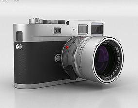 Leica M Monochrom Silver 3D