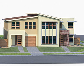 3D asset realtime Townhouse 05