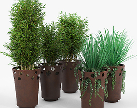 3D plant JARDINIERE GREEN PALACIO I