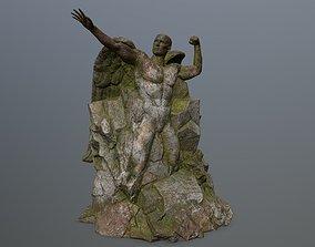 3D model Man statue