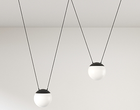 Modern Pendant Lamp - Mine Space 3D model