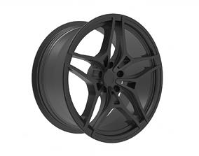 McLaren 720S front wheel rim 3D print model